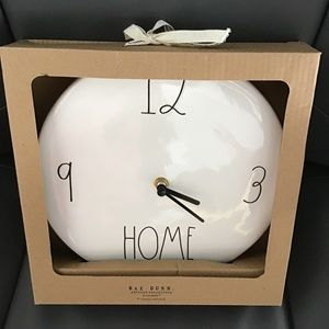 Rae Dunn (Home) clock